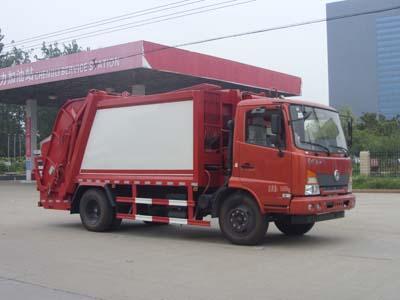 程力威牌CLW5161ZYSE5型压缩式垃圾车