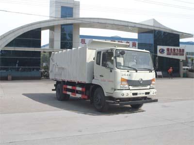 程力威牌CLW5140ZDJE5型压缩式对接垃圾车