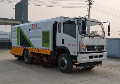 程力威牌CLW5160TXSE5型洗扫车
