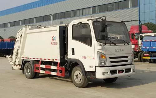 程力牌CL5070ZYSA5型压缩式垃圾车