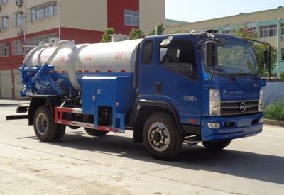 程力威牌CLW5140GQWK5型清洗吸污车