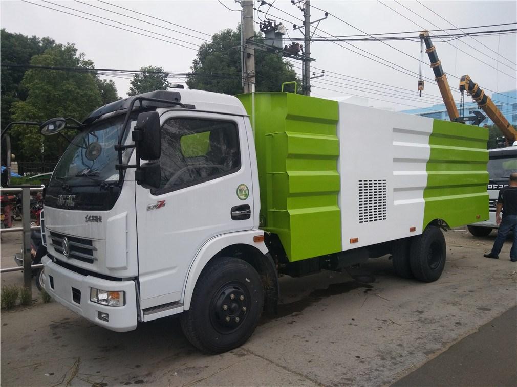 东风大多利卡吸尘车_程力威牌CLW5080TXCE5型吸尘车