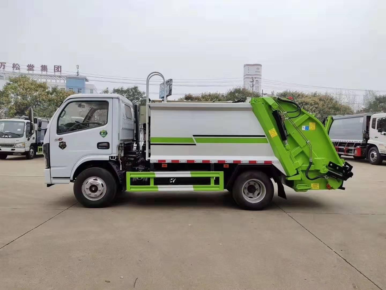 多利卡压缩垃圾车_CLW5070ZYSD6型压缩式垃圾车